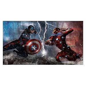 Captain America. Размер: 110 х 60 см